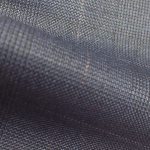 H7324 - LIGHT NAVY GLEN CHECK LILAC OVERCHECK (275 grams / 8 Oz)