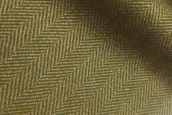 H7401 - LIGHT GREEN HERRINGBONE (500 grams / 17 Oz)