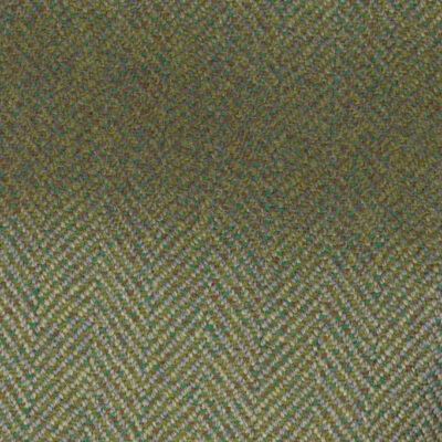 H7402 - MID GREEN HERRINGBONE (500 grams / 17 Oz)