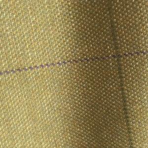 H7418 - GOLD HOPSACK WITH PURPLE GREEN CHECKS (500 grams / 17 Oz)