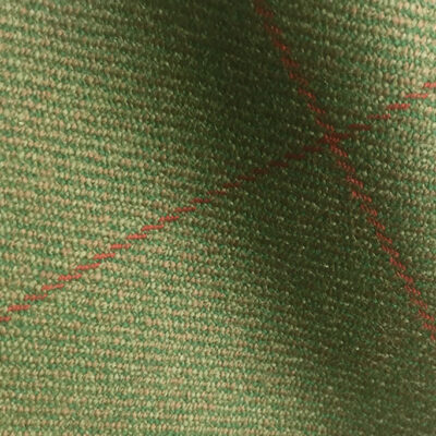 H7419 - GREEN WITH RED OVERCHECK (500 grams / 17 Oz)