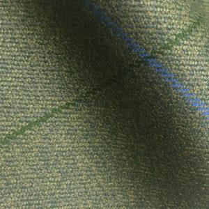 H7421 - GREEN WITH BLUE & GREEN OVER-CHECKS (500 grams / 17 Oz)