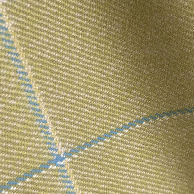 H7425 - PALE GREEN WITH BLUE OVERCHECK (500 grams / 17 Oz)