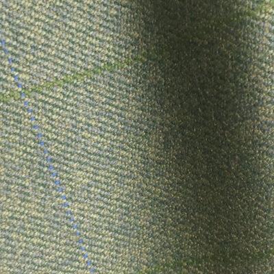 H7429 - LOVAT WITH BLUE & GREEN OVER-CHECKS (500 grams / 17 Oz)