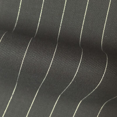 H7504 - BLACK PIN STRIPE (280 grams / 9 Oz)