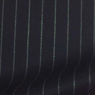 H7505 - NAVY / BLUE ROPE PIN STRIPE (280 grams / 9 Oz)