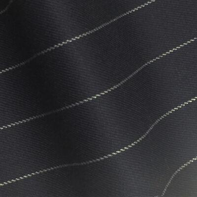H7507 - NAVY / WHITE ROPE PIN STRIPE (280 grams / 9 Oz)
