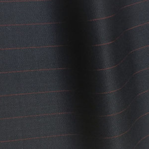 H7522 - NAVY WITH RED PIN STRIPE (280 grams / 9 Oz)