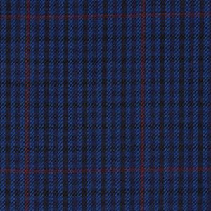 H7703 - NAVY WITH RED CHECKS (250-280 grams / 8-9 Oz)
