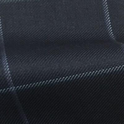 H7913 - NAVY W/WHITE BLUE WINDOW PANE (250-280 grams / 8-9 Oz)