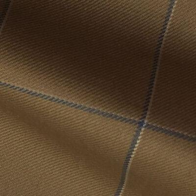 H7942 - TAUPE W/NAVY WHITE WINDOW PANE (250-280 grams / 8-9 Oz)