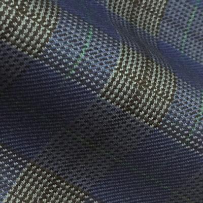 H7947 - ROYAL BLUE BLOCK CHECK (250-280 grams / 8-9 Oz)