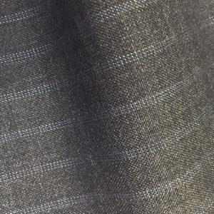 HC1102 - MID GREY with SKY WHITE Triple Pin Stripe (280 grams / 9 Oz)