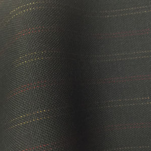 HC1107 - BLACK with RED GOLD Pin Stripes (280 grams / 9 Oz)