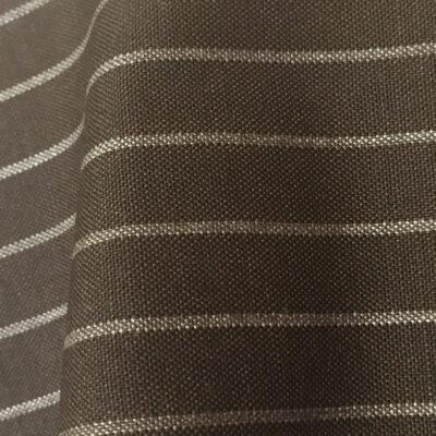 HC1116 - BROWN Chalk Stripe (280 grams / 9 Oz)