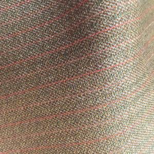HC1205 - DARK FAWN with Red Pink Pin Stripe (350 grams / 12 Oz)
