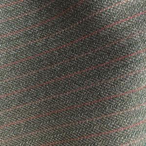 HC1207 - GREY with Red Pink Pin Stripe (350 grams / 12 Oz)