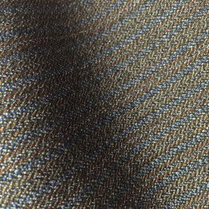 HC1212 - FAWN with Brown Blue Pin Stripe (350 grams / 12 Oz)