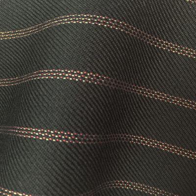 HC905 - BLACK with CLASSIC PINK TRIPLE PIN STRIPE (380-400 grams / 13-14 Oz)