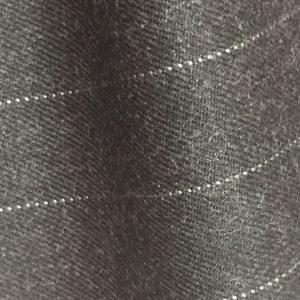 HC930 - CHARCOAL GREY Wide Pin Stripe (380-400 grams / 13-14 Oz)