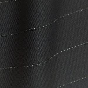 HC933 - BLACK Wide Pin Stripe (380-400 grams / 13-14 Oz)