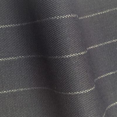 HC942 - NAVY Wide Chalk Stripe (380-400 grams / 13-14 Oz)