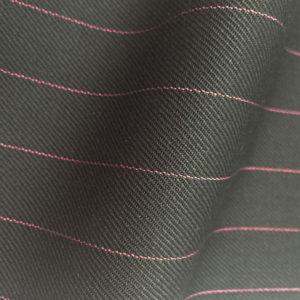 HC947 - BLACK with Lilac Pin Stripe (380-400 grams / 13-14 Oz)