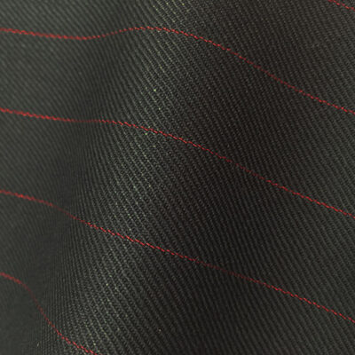 HC948 - BLACK with RED Pin Stripe (380-400 grams / 13-14 Oz)