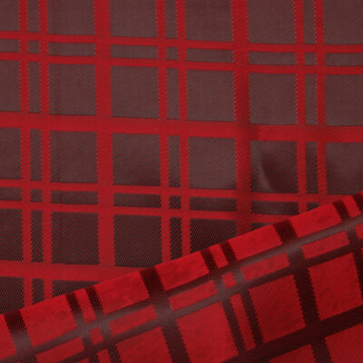 HTL 7018 - Maroon W/Red Check