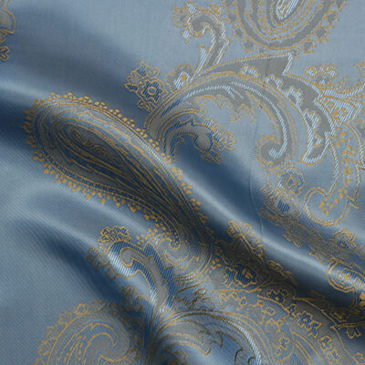 HTL 7025 - Large Paisley Sky W/Gold
