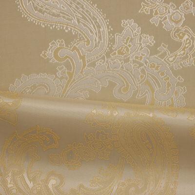 HTL 7030 - Large Paisley Cream W/Gold