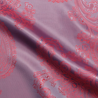 HTL 7031 - Large Paisley Ruby W/Blue