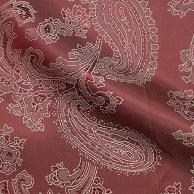 HTL 7037 - Large Paisley Puple Silver