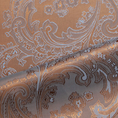 HTL 7039 - Large Paisley Old Gold Blue