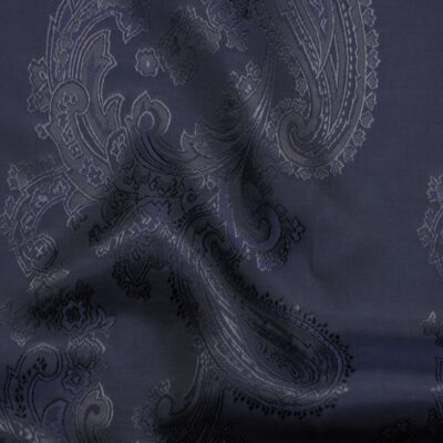 HTL 7040 - Large Paisley Navy