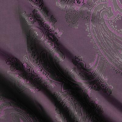 HTL 7041 - Large Paisley Dk Purple