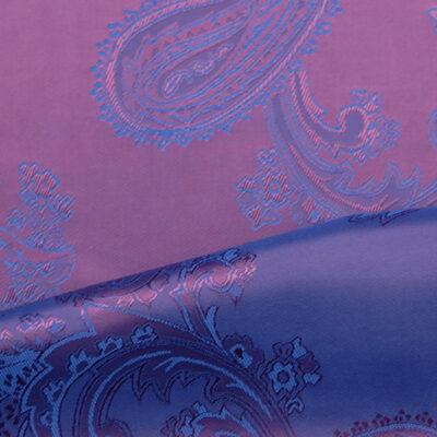 HTL 7042 - Large Paisley Purple W/Blue
