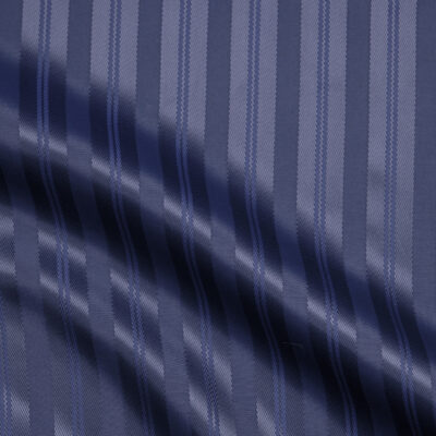 HTL 7073 - Navy Self Stripe
