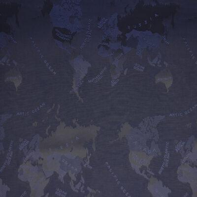 HTL 7103 - World Map Navy