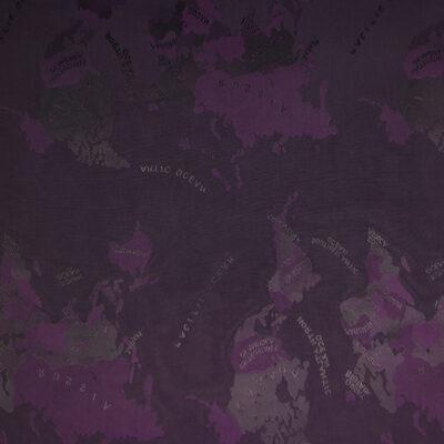 HTL 7104 - World Map Purple