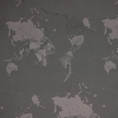 HTL 7106 - World Map Silver