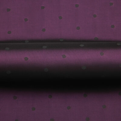 HTL 7126 - Polka Dot Dk Violet