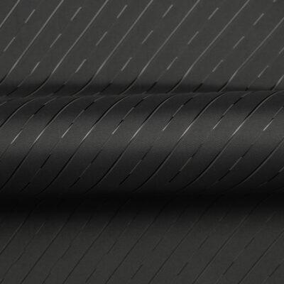 HTL 7186 - Twill Self Stripe Black