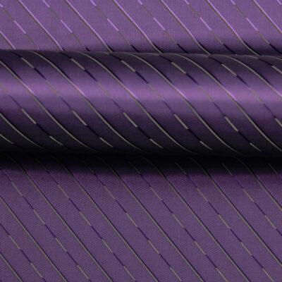 HTL 7189 - Twill Self Stripe Purple
