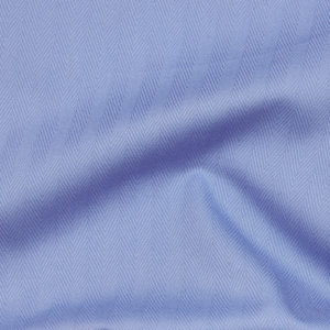 HTS 0067 - Easy-Care Herringbone French Blue