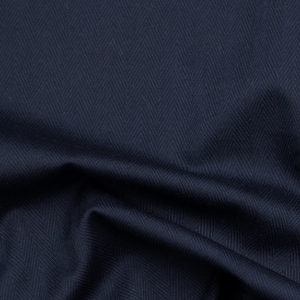 HTS 0071 - Easy-Care Herringbone Navy Blue