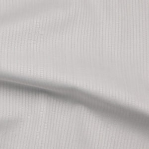 HTS 0075 - Easy-Care Micro Herringbone White