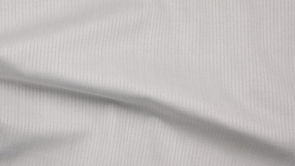 HTS 0075 - Easy-Care Micro Herringbone White