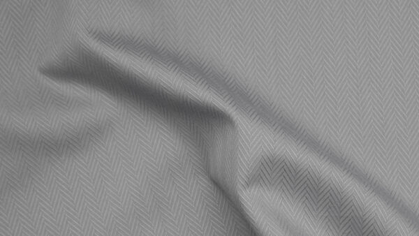 HTS 0093 - Easy-Care Wide Herringbone Dove Grey