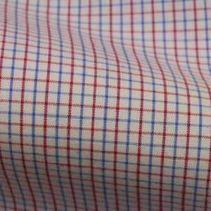 HTS 5056 - Peach Check Red Blue